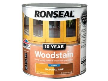 10 Year Woodstain Natural Pine 750ml